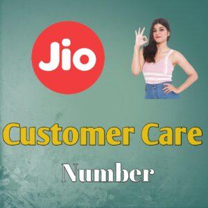 Jio customer care no