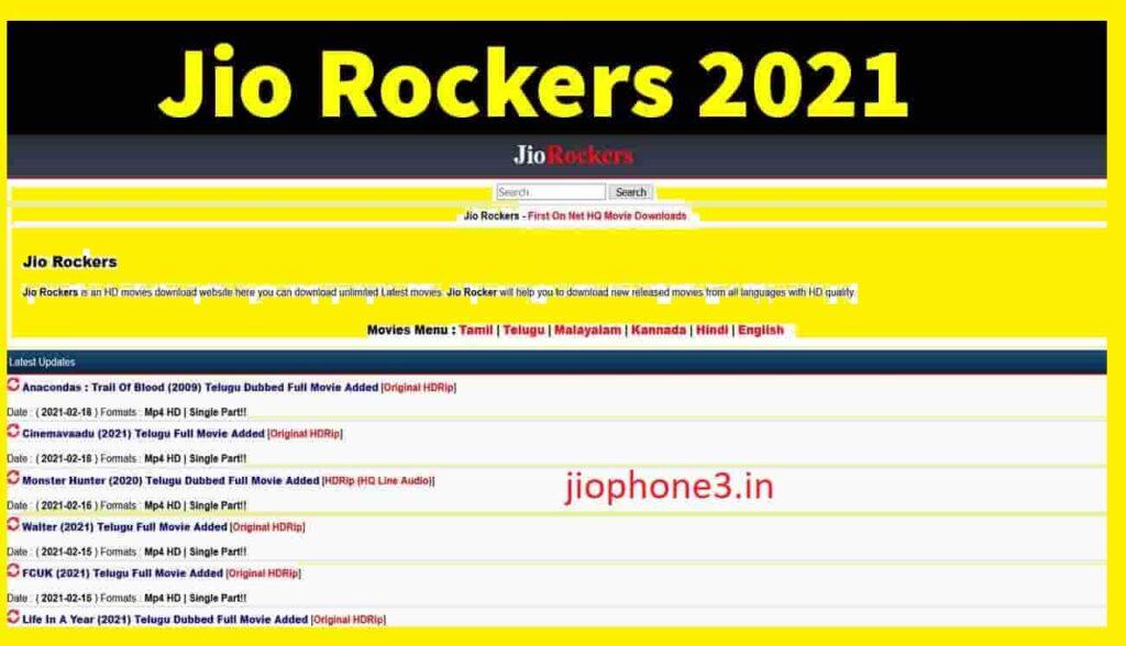 Jio Rockers Telugu